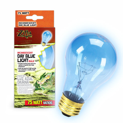 Zilla Bulb Reptile 75w Inc Day Blue Boxed-Heating & Lighting-Cichlid-Petland Canada
