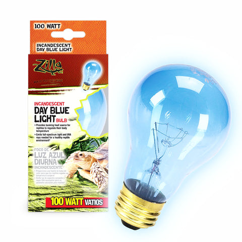 Zilla Bulb Reptile 100w Inc Day Blue Boxed-Heating & Lighting-Cichlid-Petland Canada