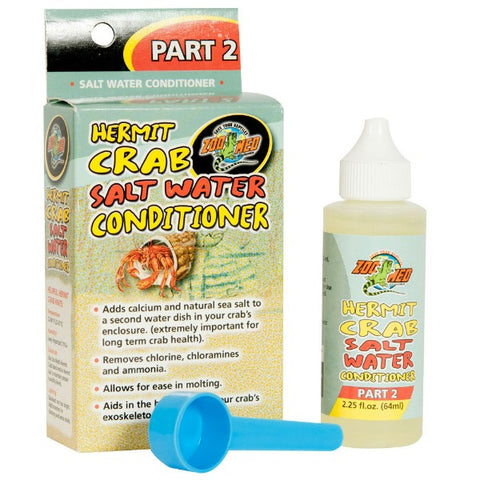 Hermit Crab Salt Water Conditioner 2 Part