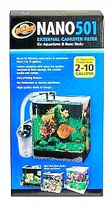 Zoo Med Nano 501 External Canister Filter-Filtration & Circulation-Zoo Med-Petland Canada