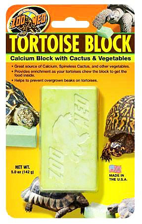 Zoo Med Tortoise Banquet Calcium Block Large 5.0oz-Vitamins & Health Care-Zoo Med-Petland Canada