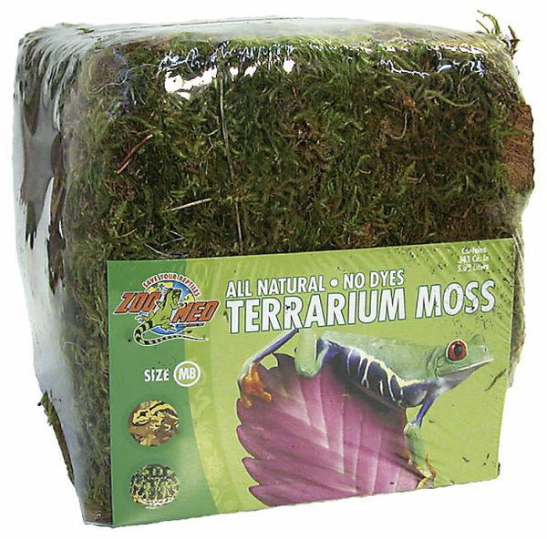 Zoo Med Terrarium Moss; available in different sizes.