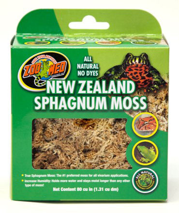 Zoo Med New Zealand Sphagnum Moss; available in 2 sizes-Substrate & Liners-Zoo Med-80 cu. in.-Petland Canada