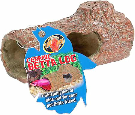 Zoo Med Betta Ceramic Log-Decor-Zoo Med-Petland Canada