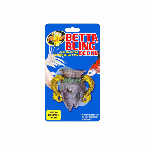 Zoo Med Betta Bling Dolphin Base