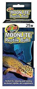 Zoo Med Moonlight Reptile Bulb; available in different sizes