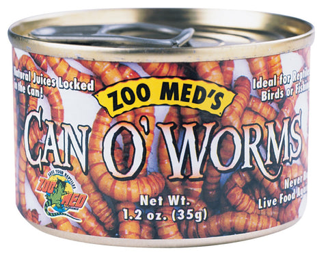 Zoo Med Can Of Worms 1.2oz