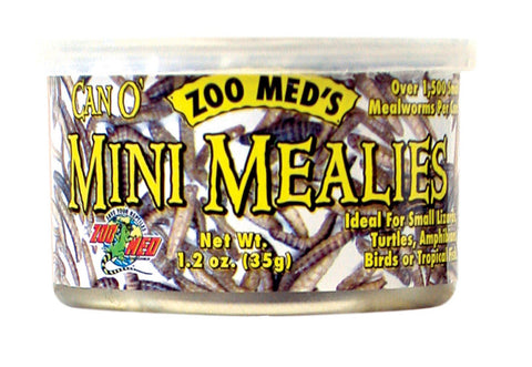 Zoo Med Can O Mini Mealies 1.2oz-Food-Zoo Med-Petland Canada