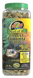 Zoo Med Natural Forest Tortoise Food; available in 3 sizes