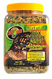 Zoo Med Natural Box Turtle Food 10oz