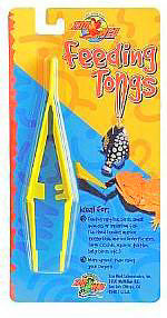 Zoo Med Feeding Tongs Plastic