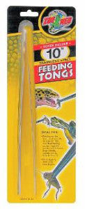 Zoo Med Feeding Tongs 10 inch Stainless