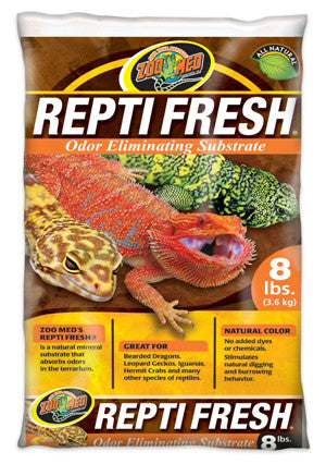 Zoo Med Reptifresh Natural Mineral 8lb Substrat