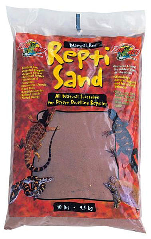 Zoo Med Repti Sand; available in different styles-Substrate & Liners-Zoo Med-Red 10lbs-Petland Canada