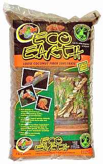 Zoo Med Eco Earth; available in different sizes.