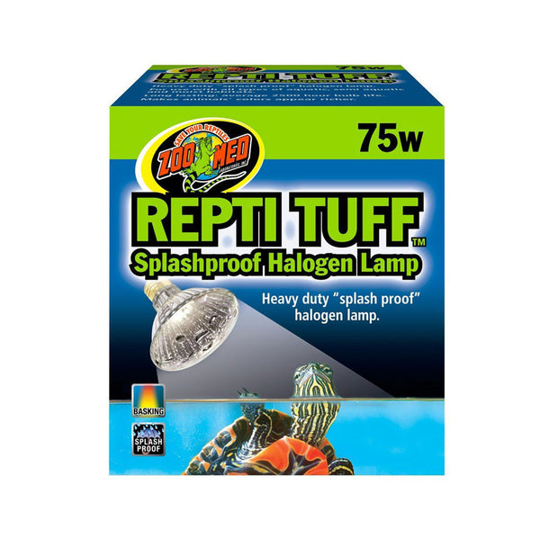 Zoo Med Repti Tuff Splashproof Halogen Lamp; available in 3 sizes