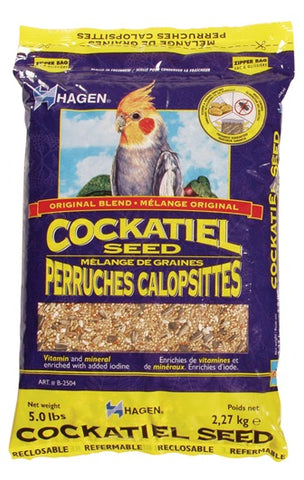 Hagen Cockatiel Staple VME Seed; Available in 2 sizes