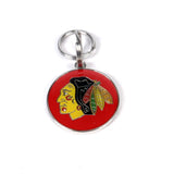 Custom engraved NHL Pet Tag, Chicago Blackhawks