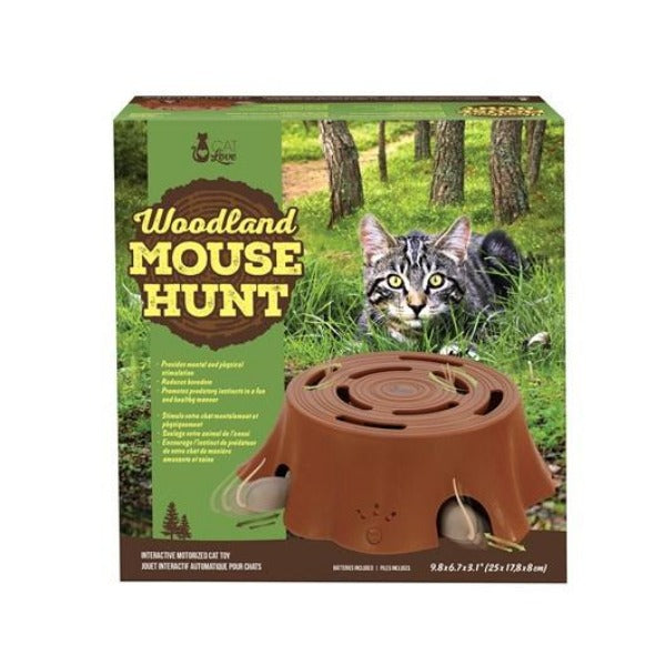 Woodland Mouse Hunt Interactive Cat Toy-Toys-vendor-unknown-Petland Canada