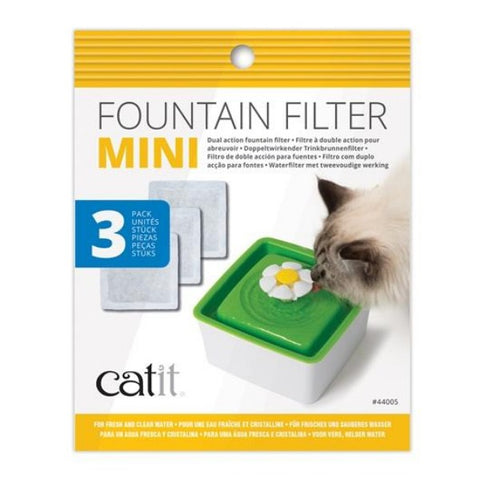 Catit Mini Fountain Filters - 3 pack-Bowls & Feeders-Catit-Petland Canada