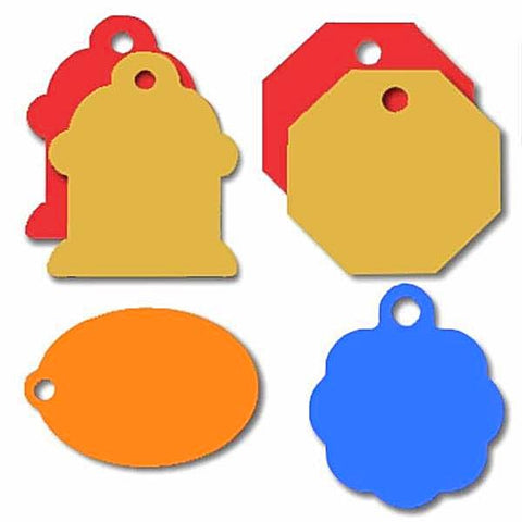 Classic Custom Engraved Pet Tags