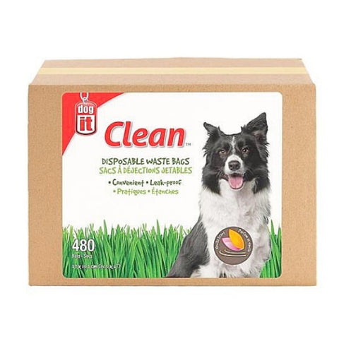 Dogit Disposable Waste Bags - Box of 480 Bags