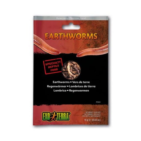 Exo Terra Vacuum Packed Earthworms