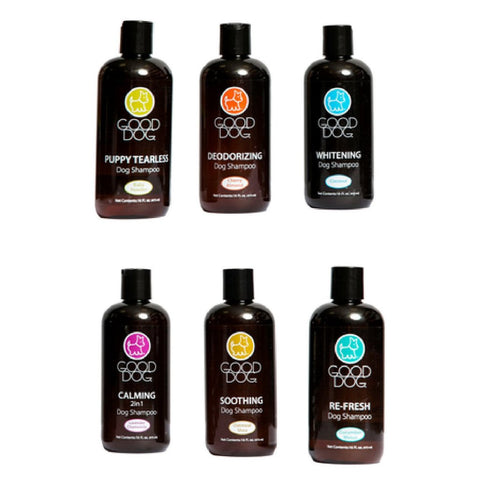 Good Dog Shampoo 473ml; Available in 6 styles-Grooming-Good Dog-Petland Canada