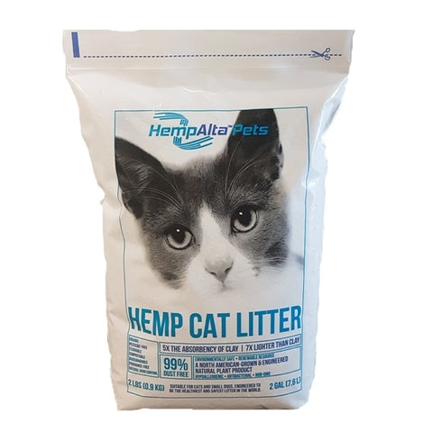 HempAlta Pets Lightweight Hemp Cat Litter