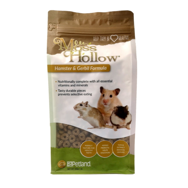 Moss Hollow Hamster & Gerbil Extrusion-Food-Moss Hollow-Petland Canada