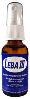 Leba III Dental Care - Dental Spray with Dropper - 1 oz