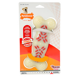 Nylabone Durachew Action Ridges Bacon Flavor; available in different sizes-Toys-Nylabone-Souper-Petland Canada