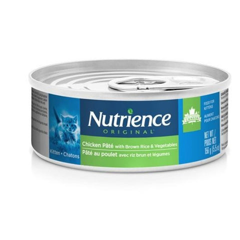 Nutrience Original Canned Kitten Food, Chicken Pate