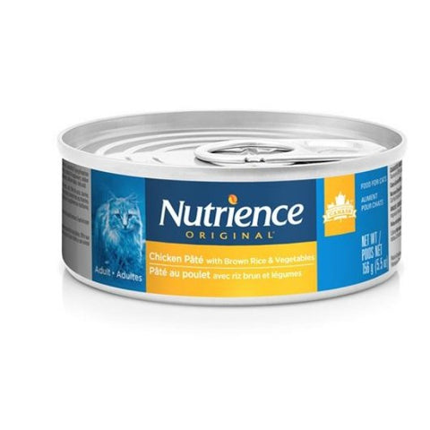 Nutrience Original Canned Cat Food, Chicken Pate