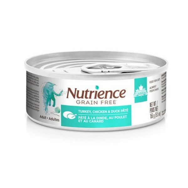 Nutrience Grain Free All Life Stages Cat Pate; Available in 3 Formulas