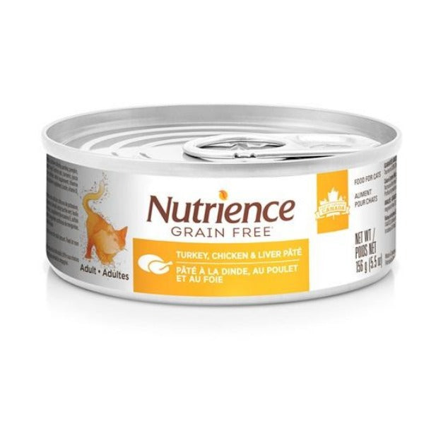 Nutrience Grain Free All Life Stages Cat Pate; Available in 2 flavours-Food Center-Nutrience-Turkey Chicken & Liver-Petland Canada