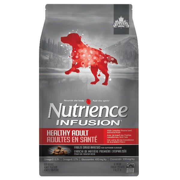 Nutrience Infusion Healthy Adult Beef 10kg