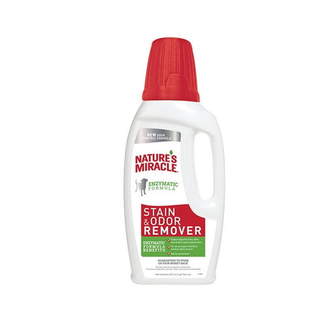 Nature's Miracle Stain & Odor Remover-Training & Behavior-Nature's Miracle-32 oz (Pour)-Petland Canada