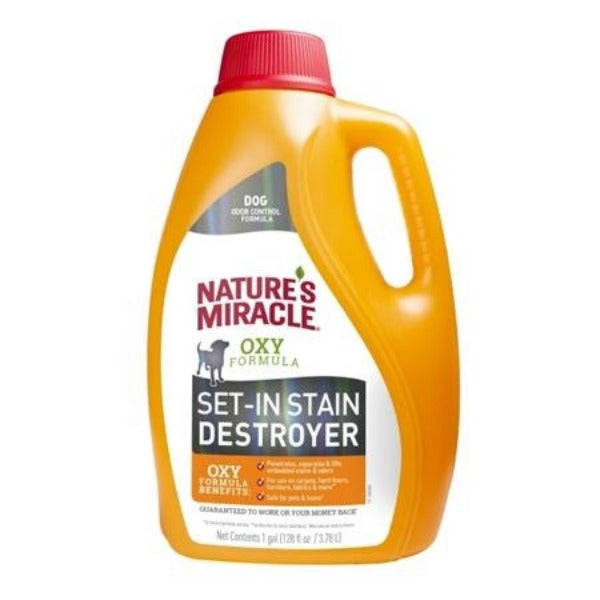 Nature's Miracle Oxy Formula Set in Stain Destroyer-Training & Behavior-Nature's Miracle-128 oz (Pour)-Petland Canada