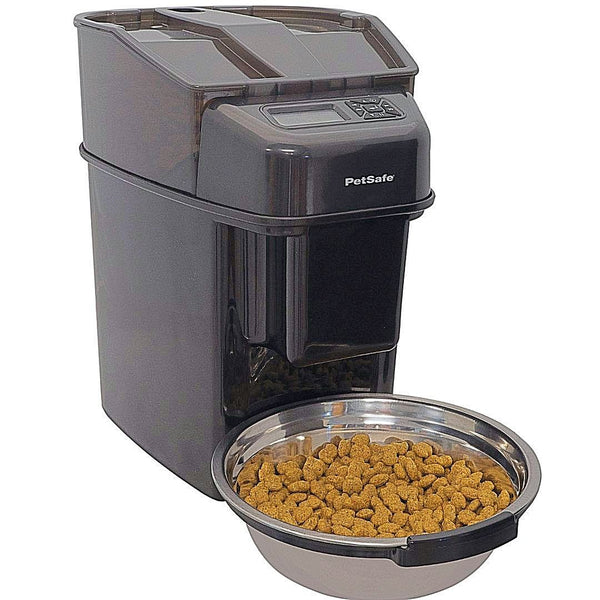PetSafe Healthy Pet Simply Feed Programmable Digital Feeder.-Bowls & Feeders-PetSafe-Petland Canada