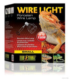 Exo Terra Porcelain Wire Clamp-Lamp; available in 2 sizes-Heating & Lighting-Exo Terra-Small-Petland Canada