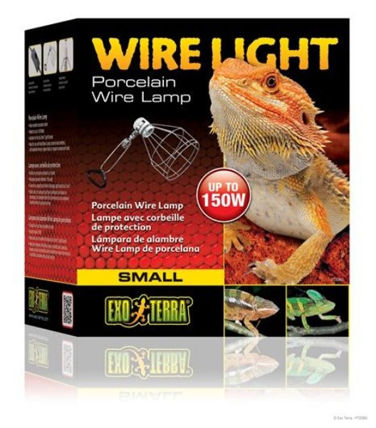 Exo Terra Wire Light - Small - 150 W