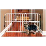 "Lil' Tuffy Expandable Gate with Small Pet Door (18"" H x 26-42"" W)-Gates & Doors-vendor-unknown-Petland Canada"