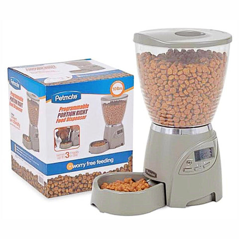 Petmate Programmable Portion Right food Dispenser-Bowls & Feeders-Petmate-Default-Petland Canada