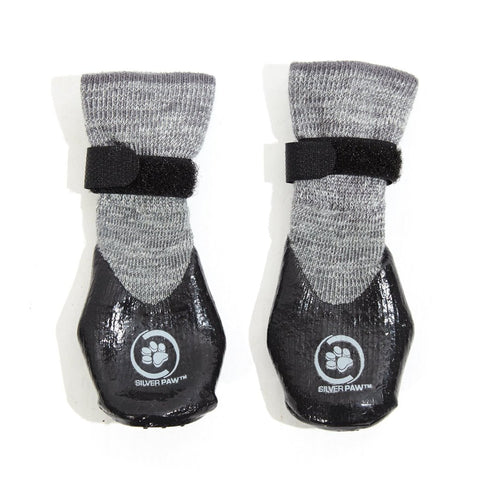 Silver Paw Waterproof Booties with Grippers