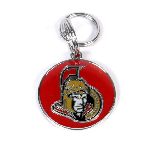 Custom Engraved Pet Tag NHL-Dog Tags-Imarc-Ottawa Senators-Petland Canada