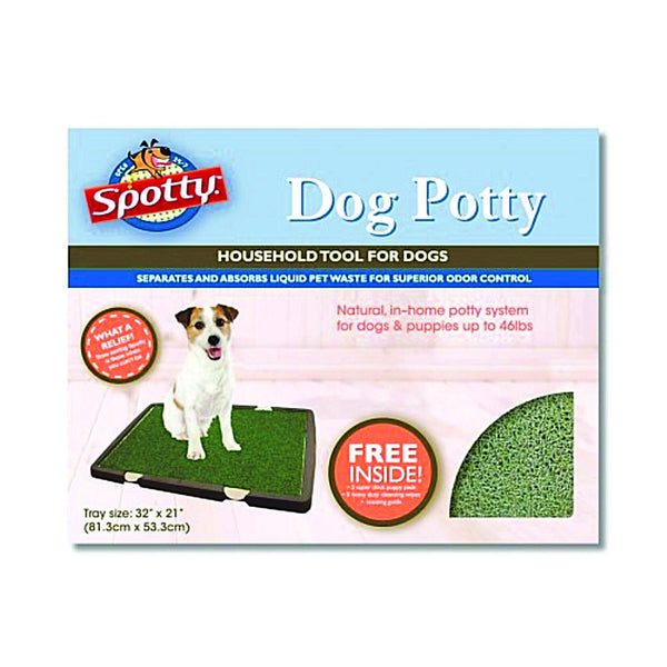 Spotty Indoor Dog Potty