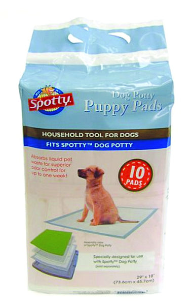Spotty Dog Potty Puppy Pads; Available In 2 Sizes