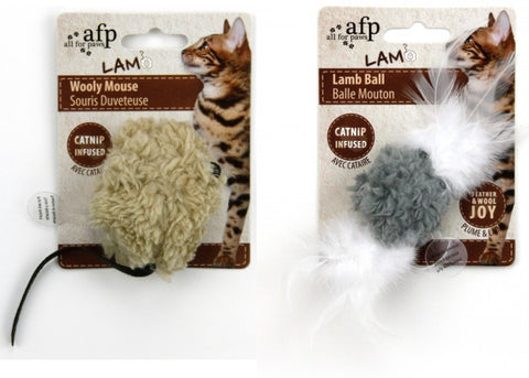 AFP Lamb Electronic Noise Cat Toys-Toys-All For Paws-Petland Canada