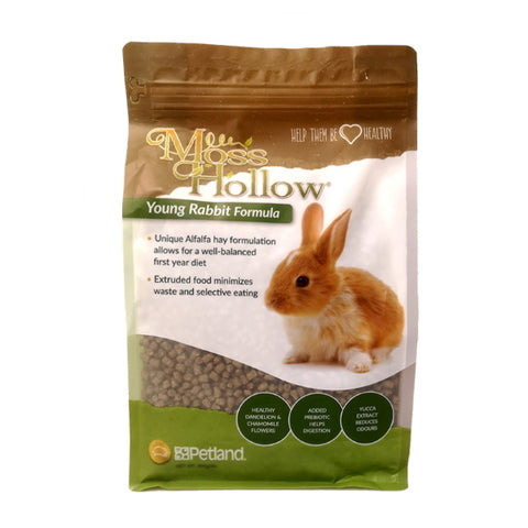 Moss Hollow Young Rabbit Extrusion 900g-Food-Moss Hollow-Petland Canada